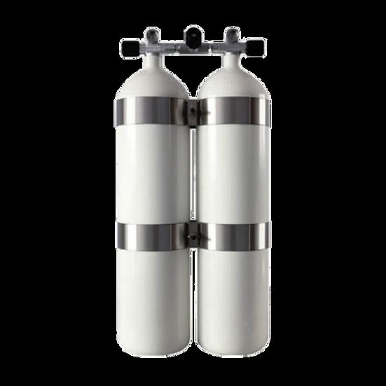 "Bibombola acciaio ""DIR"" Style 15+15Bts- 230 bar Concave"