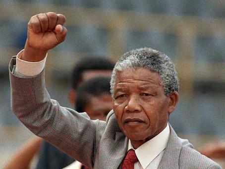 Happy Birthday Nelson Mandela! Commemorative Piece.