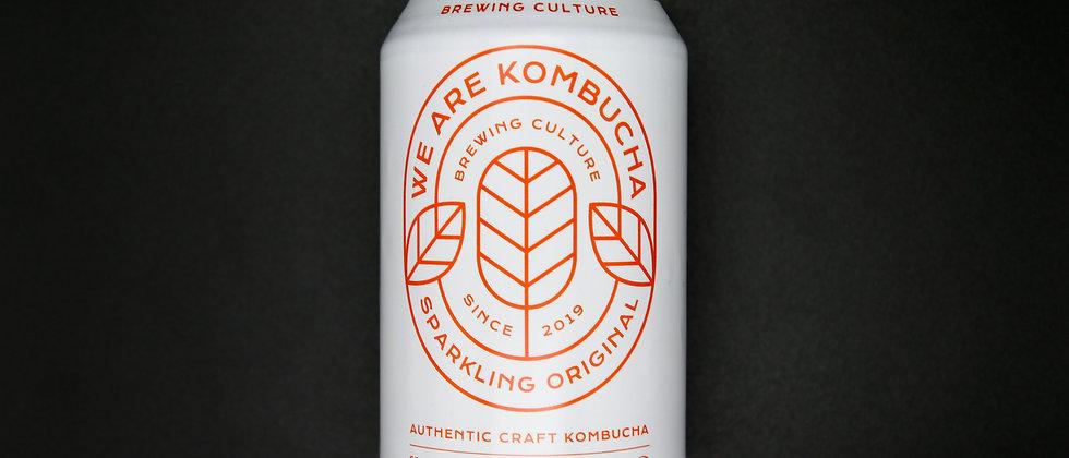 We Are Kombucha Sparkling Original