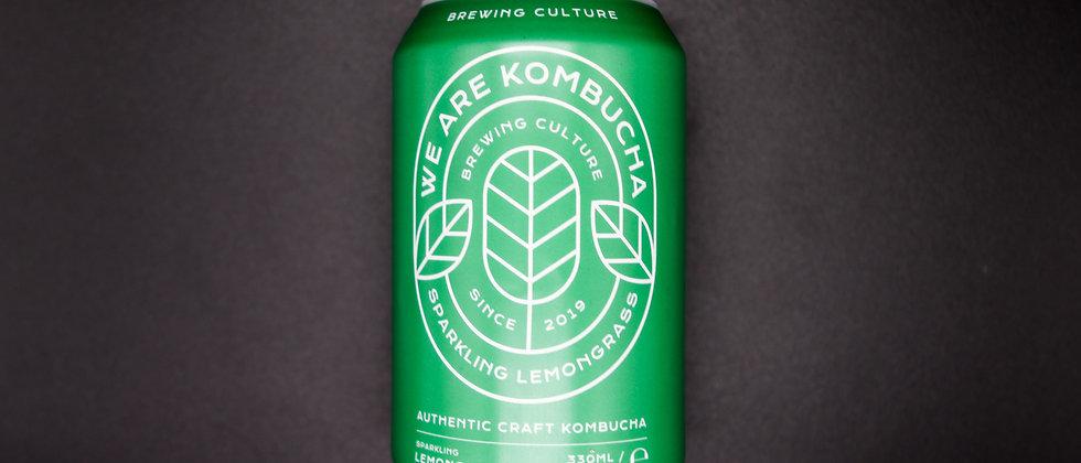 We Are Kombucha Sparkling Lemongrass