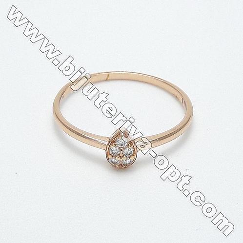 Кольцо EXR015a Кольцо под Розовое Золото
