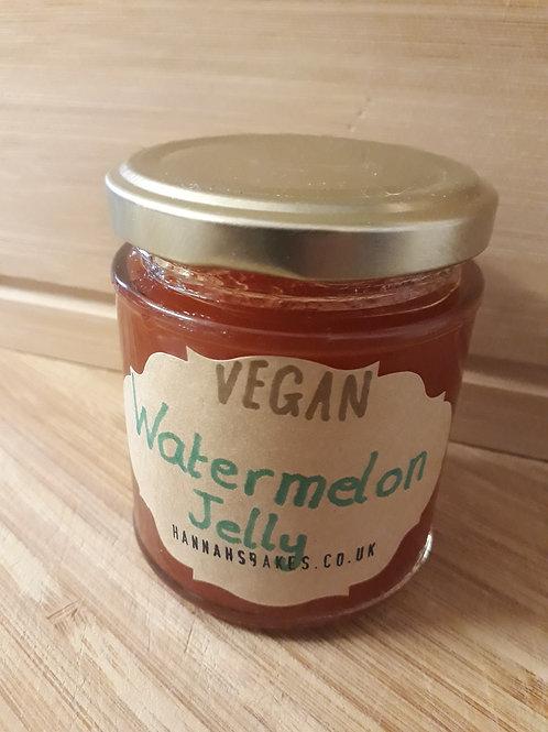 VEGAN Watermelon Jelly