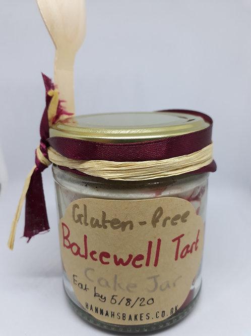Luxury Bakewell Cake Jar