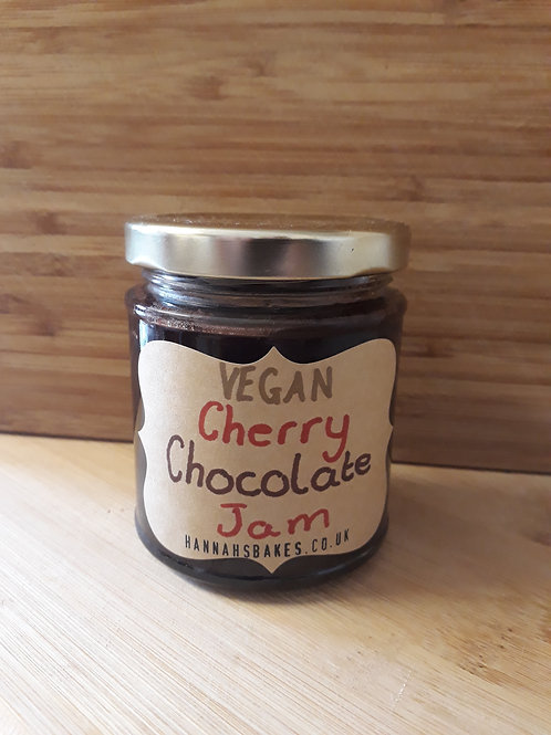 VEGAN Chocolate Cherry Jam
