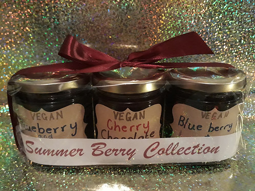 The VEGAN Summer Berry Jams Collection