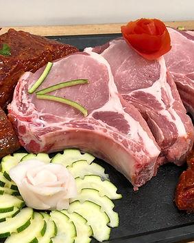 plateau de viandes du boucher