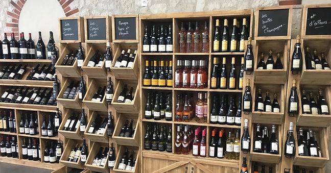 La Cave des vins de France - @lahalledautrefois.fr