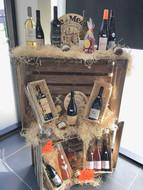 Le présentoire des vins / coffrets cadeaux