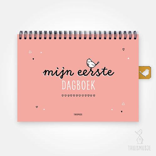 Mijn eerste dagboek | Roze