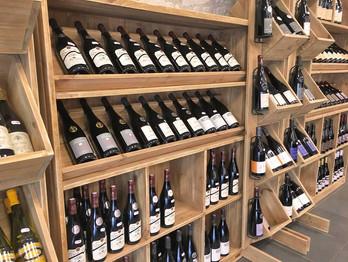 Quelques bouteilles de la cave que vous propose votre Halles d'Autrefois