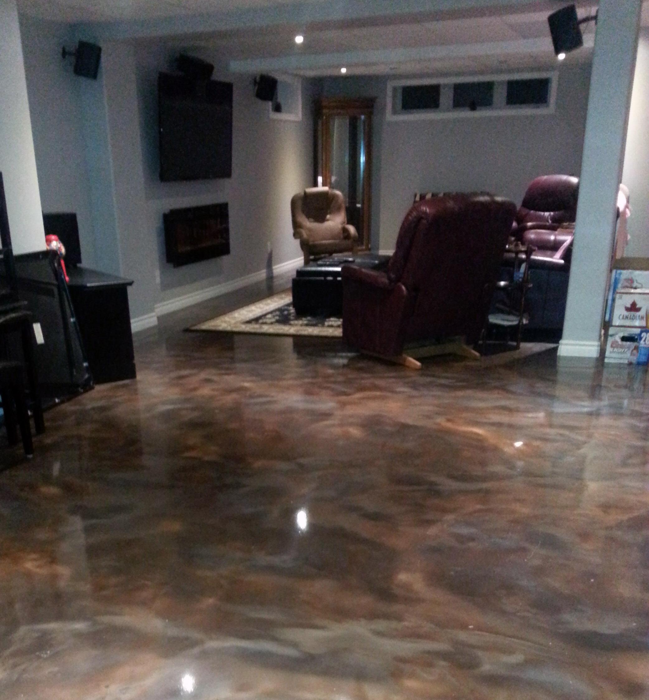 Epoxy Reflector Floor