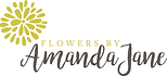 Flowers by Amanda Jane logo
