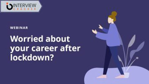 Worried about your career after lockdown?