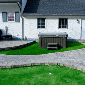 Artificial turf installation services - Winnipeg, Manitoba