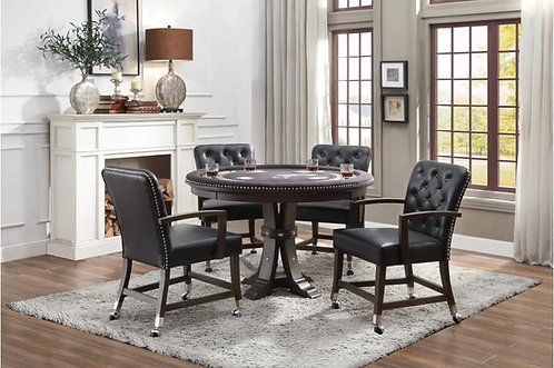 5Pc Set Ante Dining Table w/ 4 Chairs