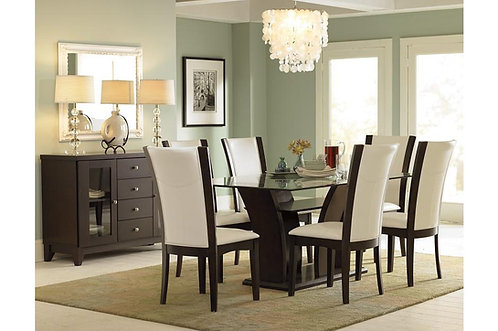 5Pc Daisy Dining Table W/ 4 Chairs