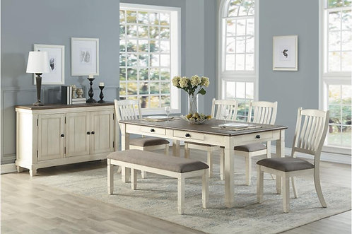 5pc Granby Dining table w/ 4 chairs