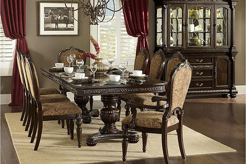 5Pc Russian Hill Dining Table W/ 4 Chairs