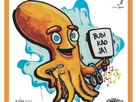 Hobotnica sa stavom!