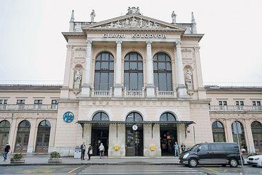 Tužni zagrebački Glavni kolodvor