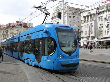 Plava boja Zagreba