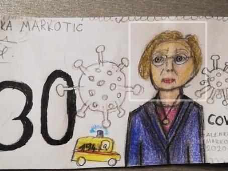 Malena Eva nacrtala je prijedlog nove hrvatske novčanice