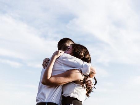 Give a hug...