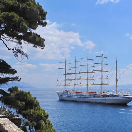'GOLDEN HORIZON' Najveći jedrenjak s križnim jedrima u svijetu