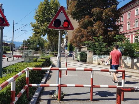 Nestrpljivost prilikom prijelaza preko pruge