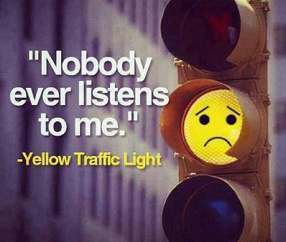 Do we need a yellow light?