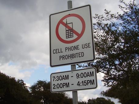 Zone oslobođene od uporabe mobitela