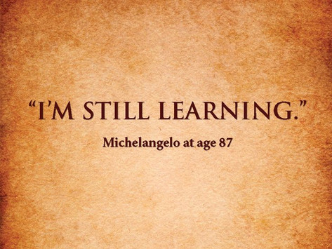 Čovjek uči dok je živ..