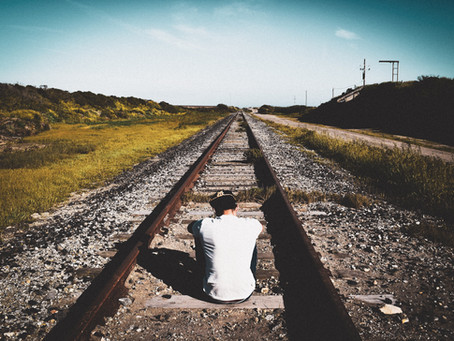 """""""Two alcoholics were on the railroad, one escaped, and another unfortunately ..."""""""
