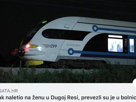 Vlak naletio, vlak usmrtio, vlak ubio...