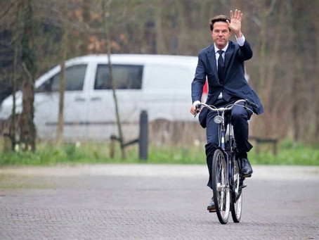 Premijer na biciklu