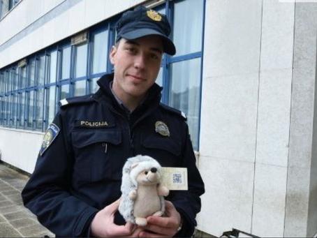 Tomislav je zaustavio promet da propusti ježa