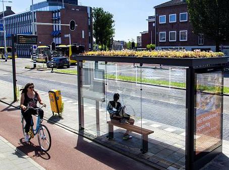 From A to Bee ili kako je grad Utrecht postavio autobusne stanice koje ne štete okolišu..
