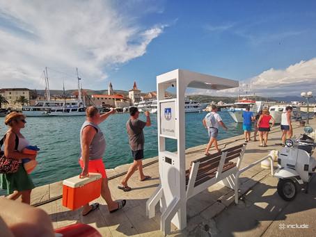 Monna je stigla u Trogir..