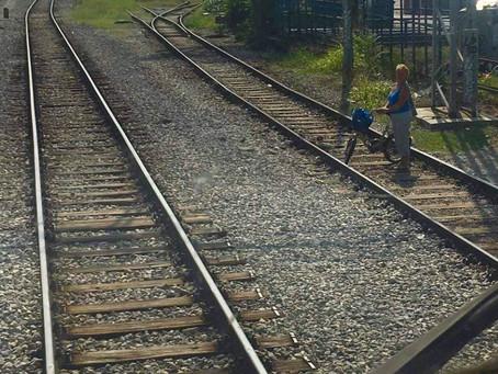 Biciklom preko pruge..