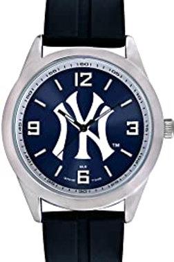 "Men's mlb-var-ny3 game time ""Varsity"" watch - New York Yankees - ""STRIPES"" logo"