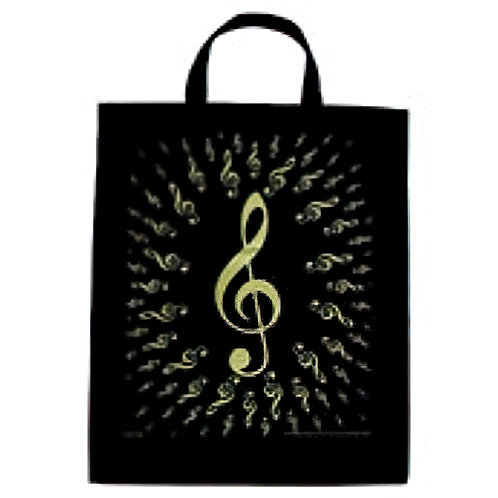 XL Tote Bursting G-Clef