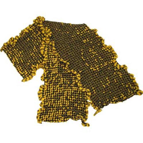 BUBBLE SCARF BLACK/GOLD