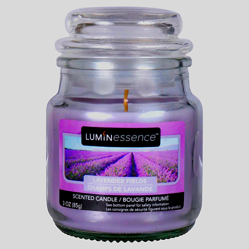 3oz. Luminessence Lavender Fields Scented Candle