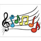 NOTE CARDS MUSIC STAFF 4.25 X 5.5 8/BOX