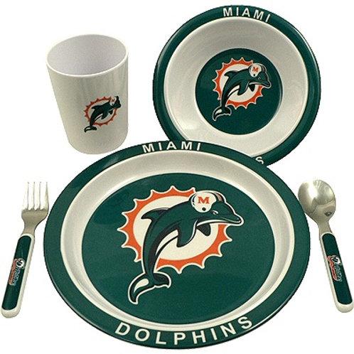 Dolphins Kids Dinner Set