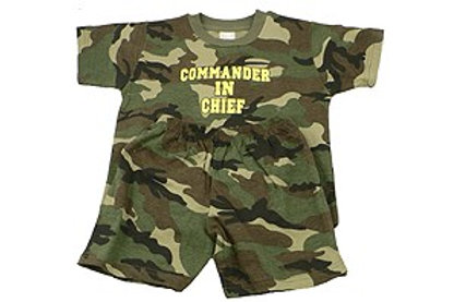 Commander In Chief Toddler Set