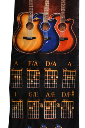 TIE GUITARS AND CHORDS