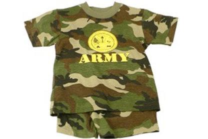Army Toddler Set