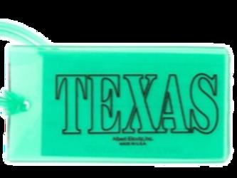 State Texas ID Tag