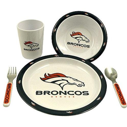 Broncos Kids Dinner Set